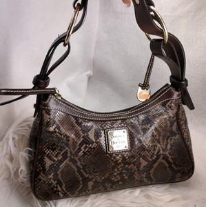 Authentic reptile Dooney & Bourke purse handbag